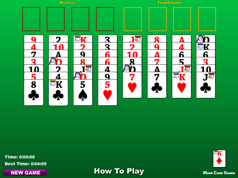 freecell solitair